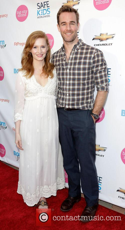 Kimberly Van Der Beek and James Van Der Beek 9