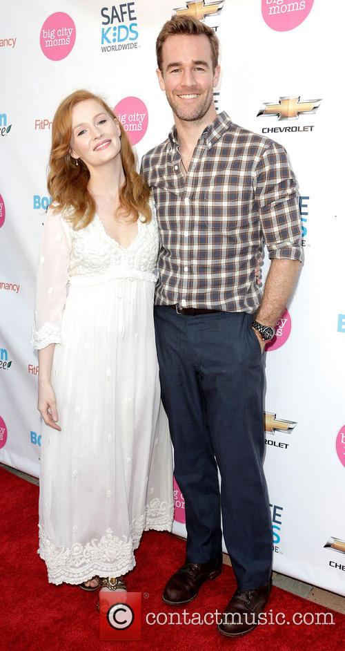 Kimberly Van Der Beek and James Van Der Beek 11