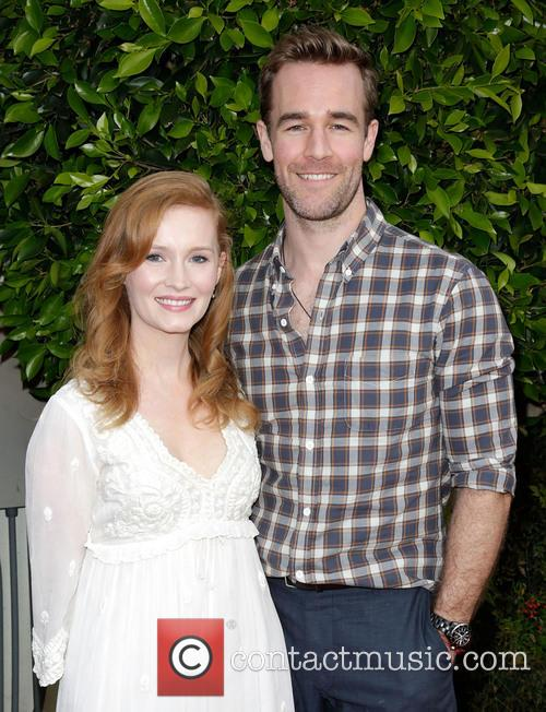 Kimberly Van Der Beek and James Van Der Beek 1