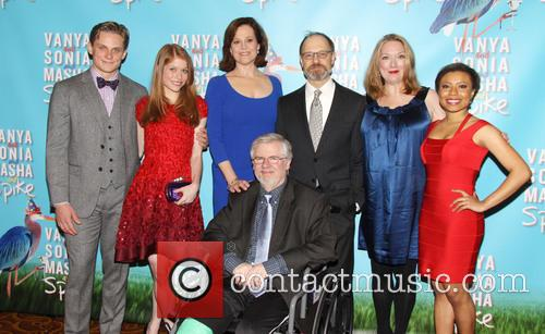 Billy Magnussen, Genevieve Angelson, Sigourney Weaver, Christopher Durang, David Hyde Pierce, Kristine Nielsen and Shalita Grant 5