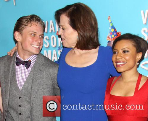 Billy Magnussen, Sigourney Weaver and Shalita Grant 7