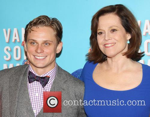Billy Magnussen and Sigourney Weaver 2