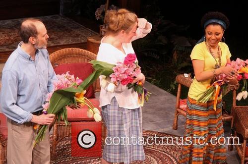 David Hyde Pierce, Kristine Nielsen and Shalita Grant 2