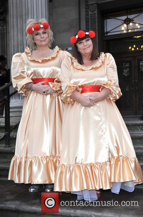 Jennifer Saunders and Dawn French 2
