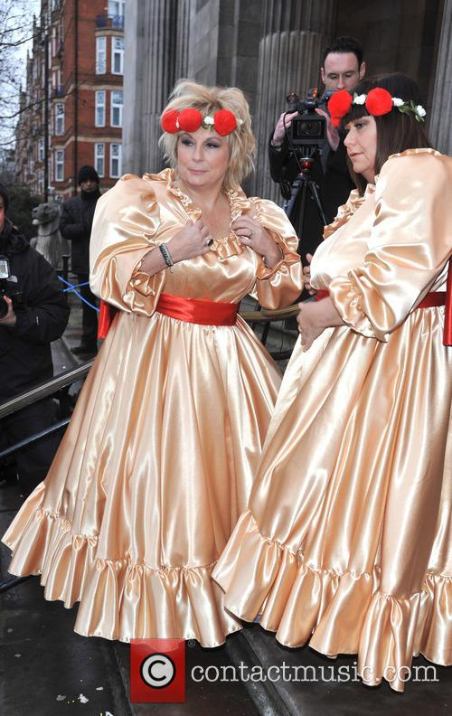 Jennifer Saunders and Dawn French 3