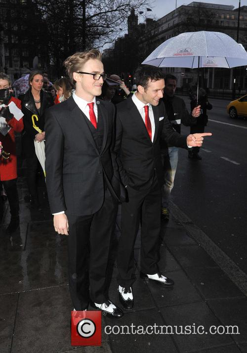 tom fletcher harry judd the bt red nose 3557159