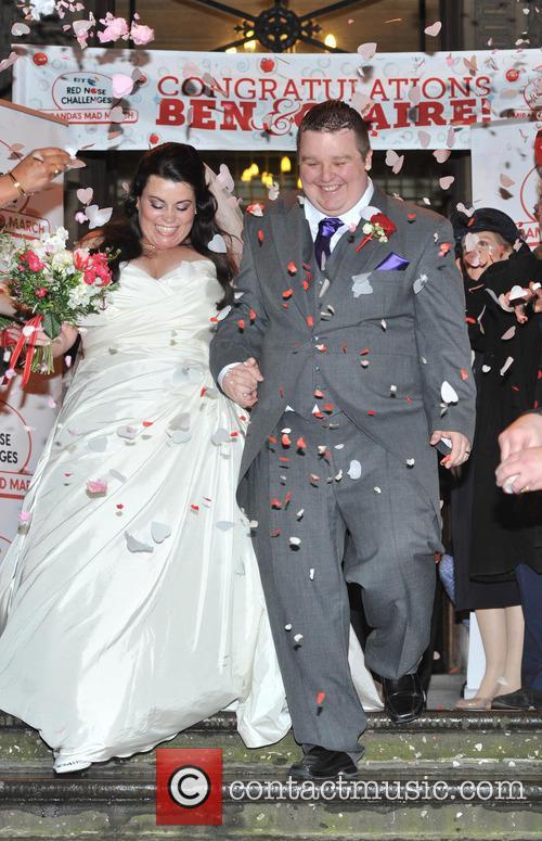 Bride Claire Gilchrist and Ben Springett 2