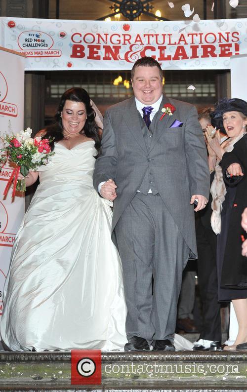 Bride Claire Gilchrist and Ben Springett 1