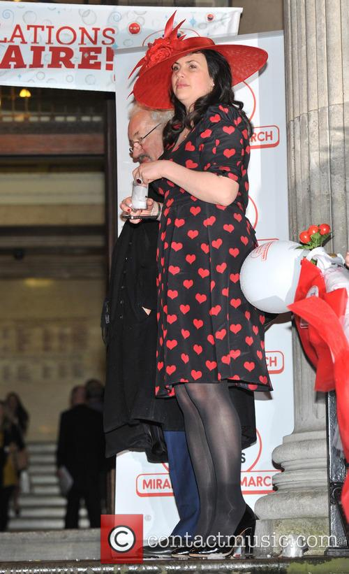 The BT Red Nose Challenge: Miranda's Mad March - finish at Westminster Register Office