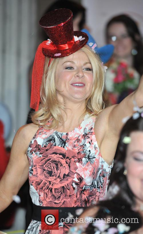 sarah hadland the bt red nose challenge 3557248