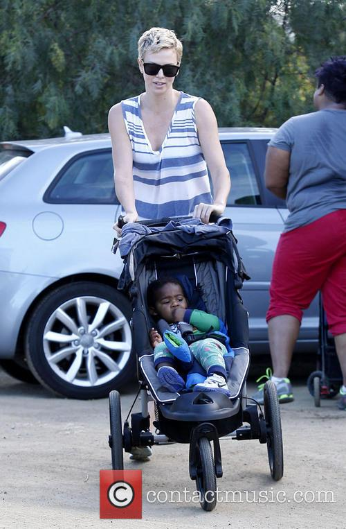 Charlize Theron and Jackson Theron 7