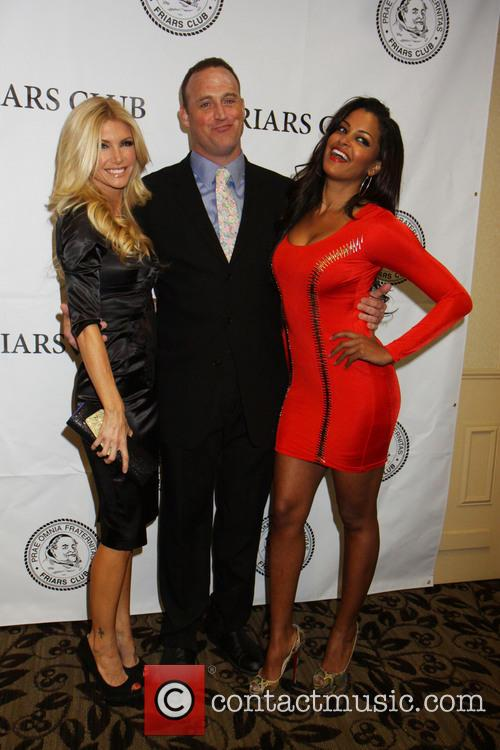 Brande Roderick, Claudia Jordan and Matt Iseman 2