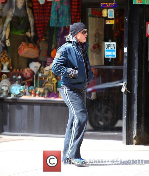 Daniel Craig seen walking home