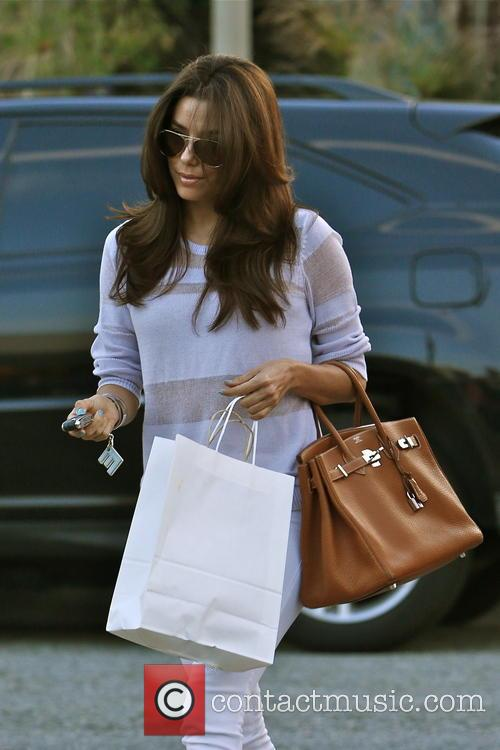 Eva Longoria, Ken Paves Hair Salon