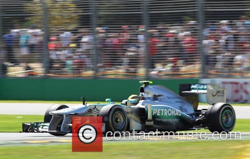 Lewis Hamilton, Uk and Mercedes W04  - 1