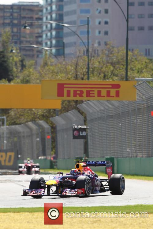 Mark Webber and Australia -  Team Red Bull-renault Rb9 1