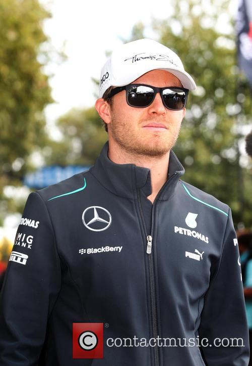 Nico Rosberg, Ger and Mercedes W04 - 1