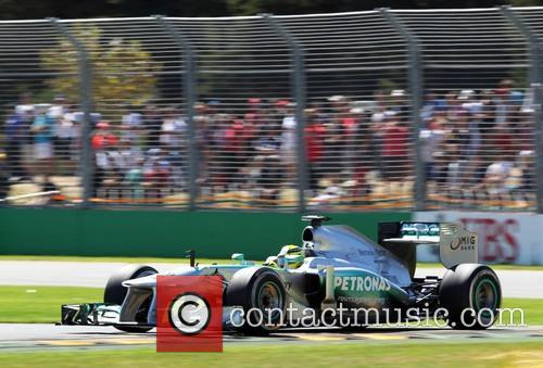 Nico Rosberg, Ger and Mercedes W04 - 3
