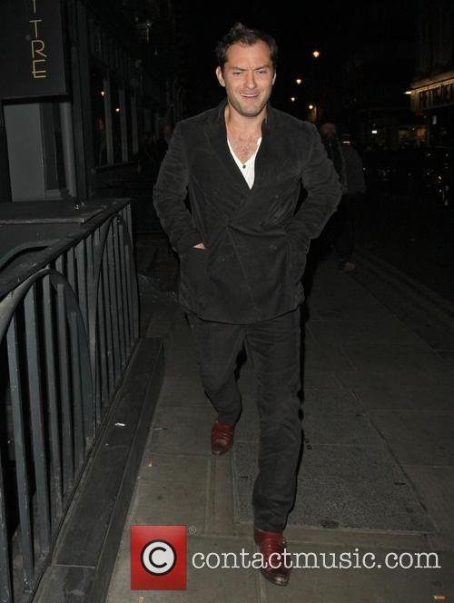 jude law jude law leaving groucho club 3556295