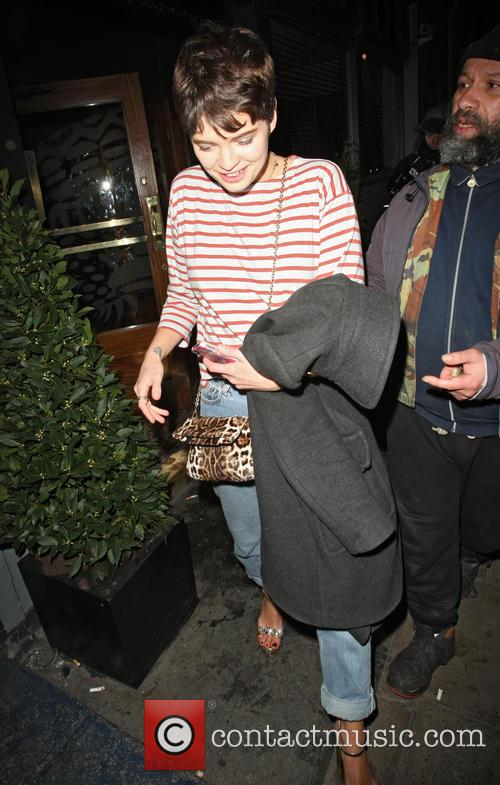 Pixie Geldof Leaving Groucho Club