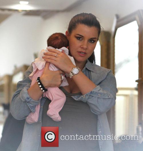 Imogen Thomas at the hairdressers