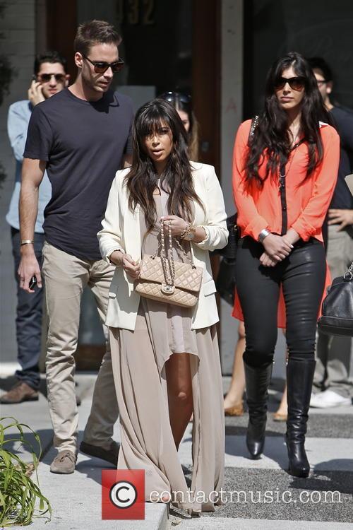 Kim Kardashian, Brittny Gastineau and Simon Huck 3