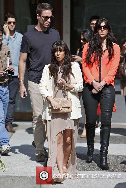 Kim Kardashian, Brittny Gastineau and Simon Huck 5