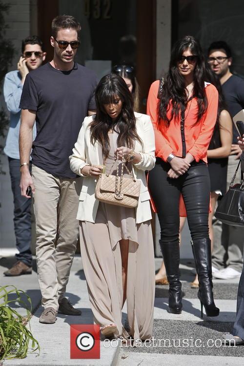 Kim Kardashian, Brittny Gastineau and Simon Huck 6