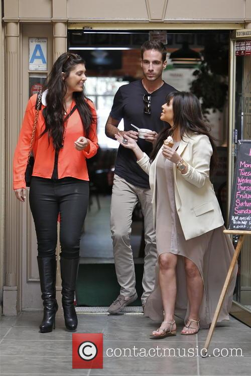 Kim Kardashian, Brittny Gastineau and Simon Huck 7