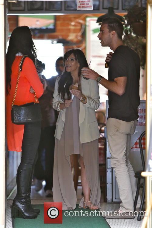 Kim Kardashian, Brittny Gastineau and Simon Huck 10