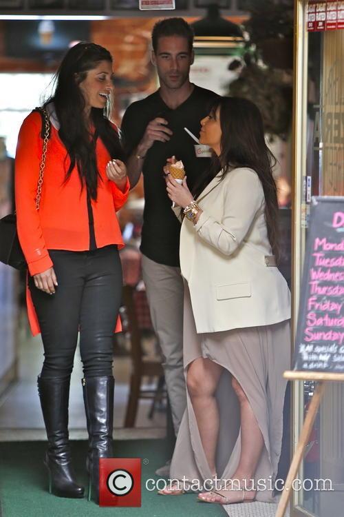 Kim Kardashian, Brittny Gastineau and Simon Huck 1