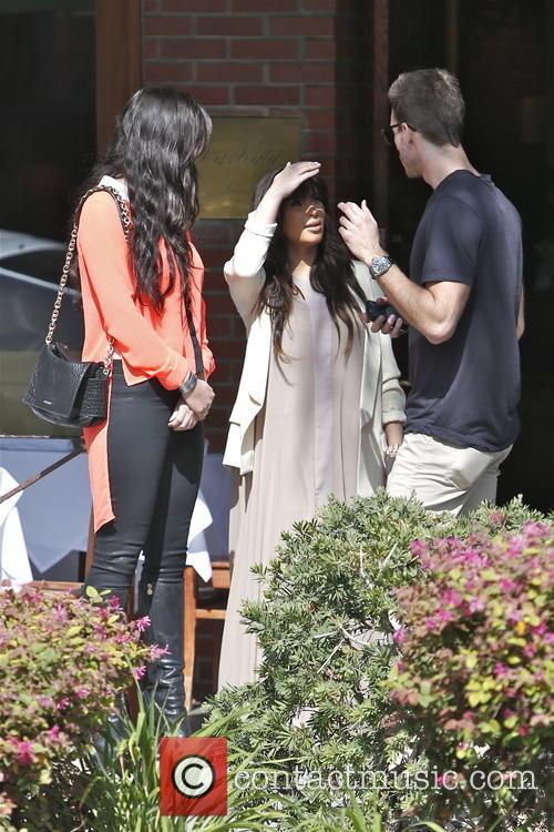 Kim Kardashian, Brittny Gastineau and Simon Huck 11