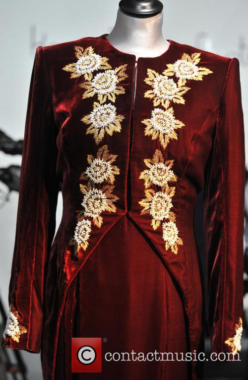 A Catherine Walker Burgundy Velvet With Embroidered Tailcoat, Worn For The State Visit Of Korea In 1992, And To The Premiere Of 'steel Magnolias' In 1990. Est. Gbp40-60000. and Atmosphere 3