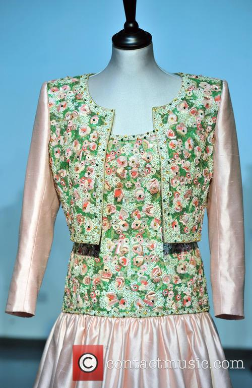 Catherine Walker Mughal Inspired Embroidered Evening Gown, Bolero Made For The State Visit Of India. Est. Gbp80-120000 and Atmosphere 1