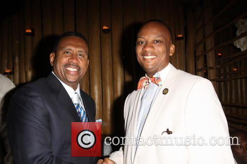 Michael Baisden and Mayor Oliver G. Gilbert Iii 3