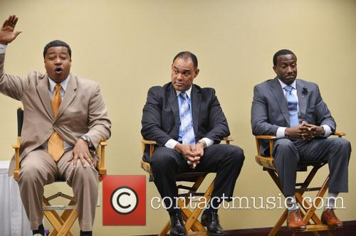 "J. Phillip Tavernier, Donovan Campbell and Dr. Rudolph ""rudy"" Moise 3"