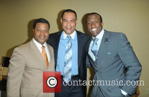 "J. Phillip Tavernier, Donovan Campbell and Dr. Rudolph ""rudy"" Moise 1"