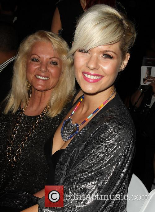 kimberly caldwell with her mother la fashion weekend 3557872