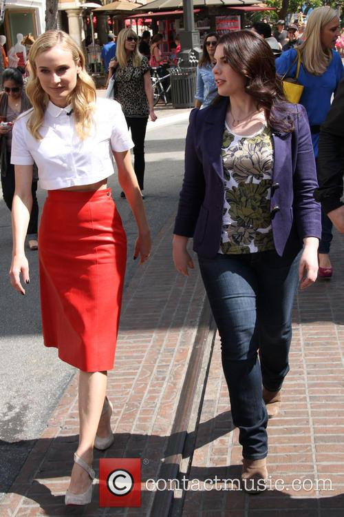Diane Kruger and Stephenie Meyer 3