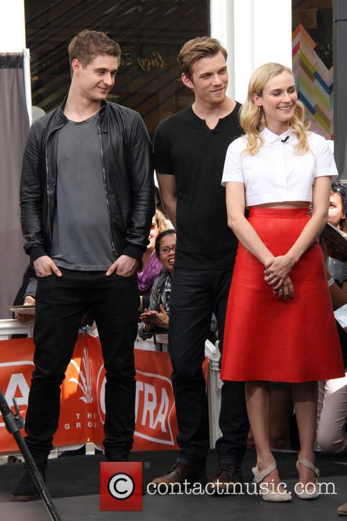 Jake Abel, Diane Kruger and Max Irons 2