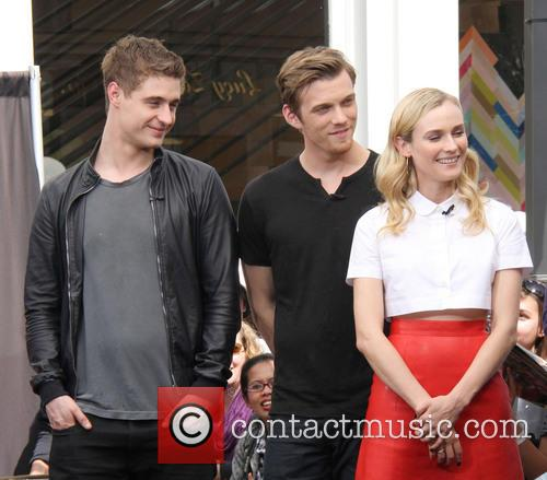 Jake Abel, Diane Kruger and Max Irons 6