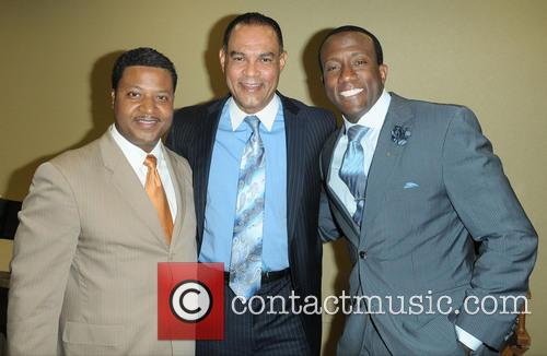 "J. Phillip Tavernier, Donovan Campbell and Dr. Rudolph ""rudy"" Moise 6"