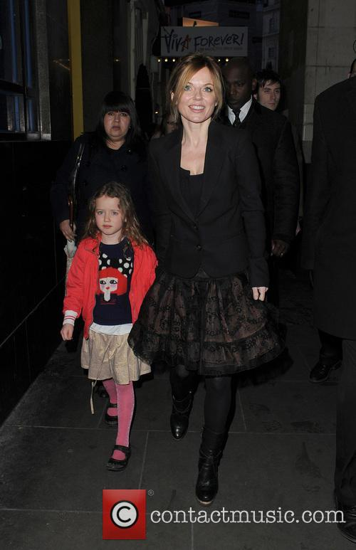 Geri Halliwell and Bluebell 7