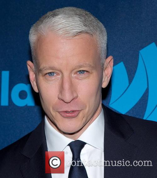 Anderson Cooper, New York Marriott Marquis