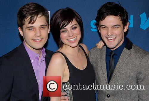 Andy Mientus, Krysta Rodriquez and Wesley Taylor 3