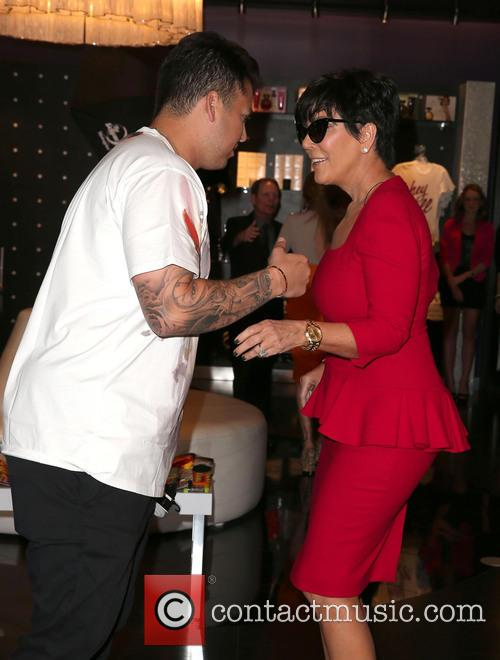 Rob Kardashian and Kris Jenner 3