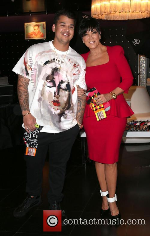 Rob Kardashian and Kris Jenner 5