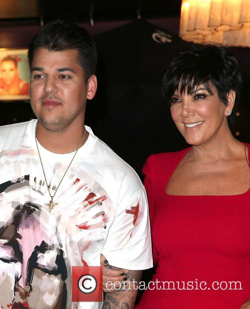 Rob Kardashian and Kris Jenner 6