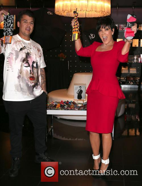 Rob Kardashian and Kris Jenner 7