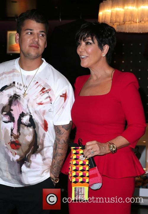 Rob Kardashian and Kris Jenner 9